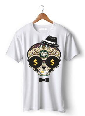 Classic skull with hat